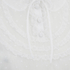 REDValentino Women's Lace Bib Front Tie Blouse - White: Image 3