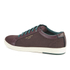 Ted Baker Men's Keeran 3 Geo-Print Cup-Sole Trainers - Dark Red: Image 4
