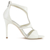 Ted Baker Women's Shyea Leather Strappy Heeled Sandals - Cream: Image 1