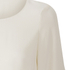 Helmut Lang Women's Satin Back Crepe Scoop Tunic Dress - Ivory: Image 3