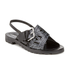 KENZO Women's Kruise Buckle Leather Sandals - Black: Image 5