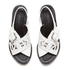 KENZO Women's Kruise Buckle Leather Sandals - White: Image 2