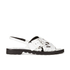 KENZO Women's Kruise Buckle Leather Sandals - White: Image 1