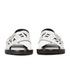 KENZO Women's Kruise Buckle Leather Sandals - White: Image 4