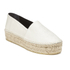 KENZO Women's Tiger Leather Flatform Espadrilles - Cream: Image 5