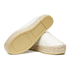 KENZO Women's Tiger Leather Flatform Espadrilles - Cream: Image 6