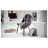Royal Dream Large Sheepskin Rug - Grey: Image 1