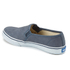 Keds Women's Double Decker Washed Leather Slip On Trainers - Navy: Image 4