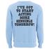 TSPTR Men's Dancin Snoopy Crew Neck Sweatshirt - Blue: Image 2