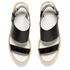 Paul Smith Shoes Women's Bennet Leather Flatform Sandals - Black Charol Patent: Image 2