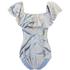 Mara Hoffman Women's Ruffle Shoulder Swimsuit - Aloe Pink: Image 1