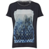Maison Scotch Women's Photoprint T-Shirt - Blue: Image 1