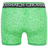 Crosshatch Men's Lightspeed 2-Pack Boxers - Bright Green/Black: Image 3