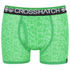 Crosshatch Men's Lightspeed 2-Pack Boxers - Bright Green/Black: Image 2