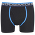 Crosshatch Men's Lightspeed 2-Pack Boxers - Neon Blue/Black: Image 4
