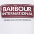 Barbour International Men's Logo T-Shirt - White: Image 3