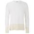 YMC Men's Block Long Sleeve T-Shirt - Cream: Image 1