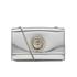 Versus Versace Women's Metallic Shoulder Bag - Silver: Image 1