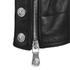 Versus Versace Men's Back Leather Biker Jacket - Black: Image 4