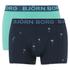 Bjorn Borg Men's Twin Pack Palms Boxers - Total Eclipse: Image 1