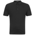 T by Alexander Wang Men's Short Sleeve Polo Shirt - Black: Image 1