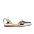 Loeffler Randall Women's Prue Pointed Flats - Silver: Image 1