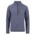 Craghoppers Men's Swainby Half Zip Sweatshirt - Dusk Blue Marl: Image 1