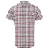Craghoppers Men's Avery Short Sleeve Shirt - Chesterfield Red: Image 1