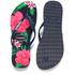 Havaianas Women's Slim Floral Flip Flops - Navy Blue: Image 5