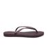 Havaianas Women's Slim Flips Flops - Aubergine: Image 2