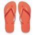 Havaianas Women's Slim Flip Flops - Neon Orange: Image 1