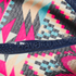 Havaianas Women's Slim Tribal Flip Flops - White/Navy Blue: Image 4
