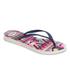 Havaianas Women's Slim Tribal Flip Flops - White/Navy Blue: Image 3