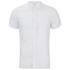 J.Lindeberg Men's Short Sleeve Linen Shirt - White: Image 1