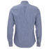 J.Lindeberg Men's Denim Long Sleeve Shirt - Light Indigo: Image 2