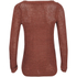 ONLY Women's Geena Pullover Knit Jumper - Marsala: Image 2