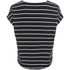 ONLY Women's Love Stripe Loose Top - Black: Image 2