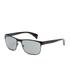 Prada Men's Conceptual Metal Sunglasses - Black: Image 2