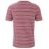 Lyle & Scott Vintage Men's Crew Neck Oxford Stripe T-Shirt - Ruby: Image 2