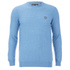 Lyle & Scott Vintage Men's Crew Neck Cotton Merino Jumper - Dusk Blue: Image 1
