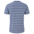 Lyle & Scott Vintage Men's Crew Neck Oxford Stripe T-Shirt - Present Blue: Image 2