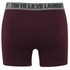 Tokyo Laundry Men's Kings Cross 2 Pack Button Boxers - Black/Oxblood: Image 5