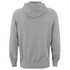 Tokyo Laundry Men's Cobble Hill Zip Through Hoody - Light Grey Marl: Image 2