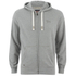 Tokyo Laundry Men's Cobble Hill Zip Through Hoody - Light Grey Marl: Image 1