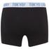 Tokyo Laundry Men's Tasmania 2 Pack Boxers - Ocean/Black: Image 3