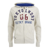 Tokyo Laundry Men's Harlem Cove Zip Through Hoody - Oatmeal Marl: Image 1