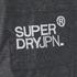 Superdry Men's Technical Wind Attacker Jacket - Dark Charcoal Marl/Black: Image 8