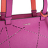 Calvin Klein Women's Sofie Perforated Large Saffiano Tote Bag - Berry: Image 3