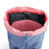 Herschel Women's Little America Mid-Volume Polka Dot Crosshatch Backpack - Light Blue: Image 4