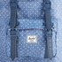 Herschel Women's Little America Mid-Volume Polka Dot Crosshatch Backpack - Light Blue: Image 3
